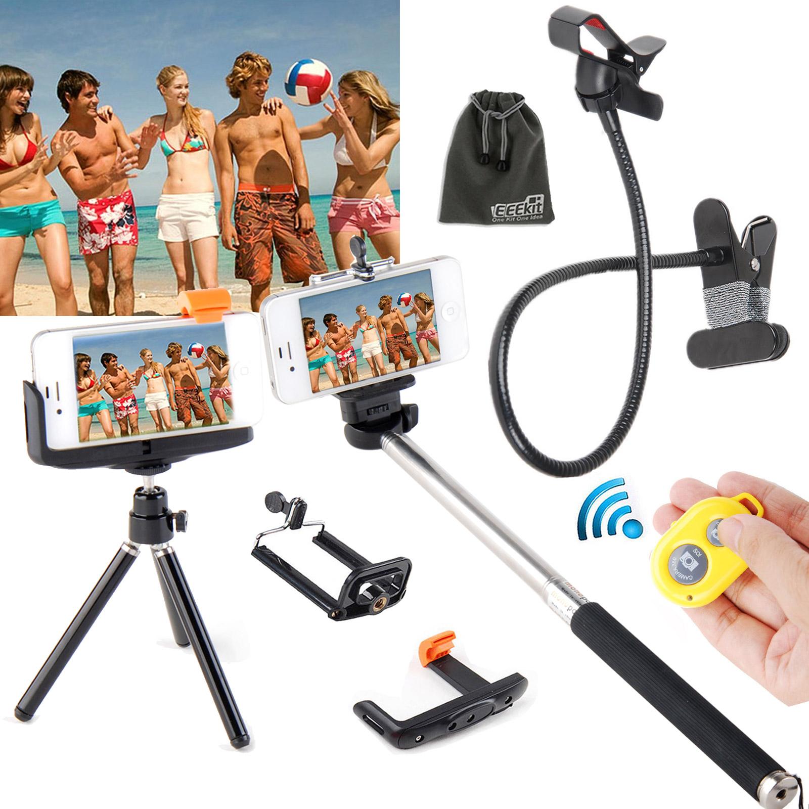EEEKit for Phone Bluetooth Camera Remote Control+Monopod/Tripod+Desktop Holder at Sears.com