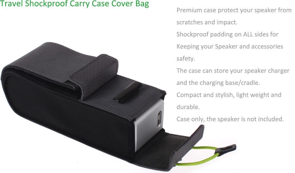 Eeekit For Bose Soundlink Mini Bluetooth Speaker Ii Travel Case Box Bag Cable Ebay
