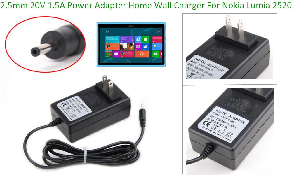 Eeekit 4in1 For Nokia Lumia 2520 Sleeve Bag Data Cable Ac