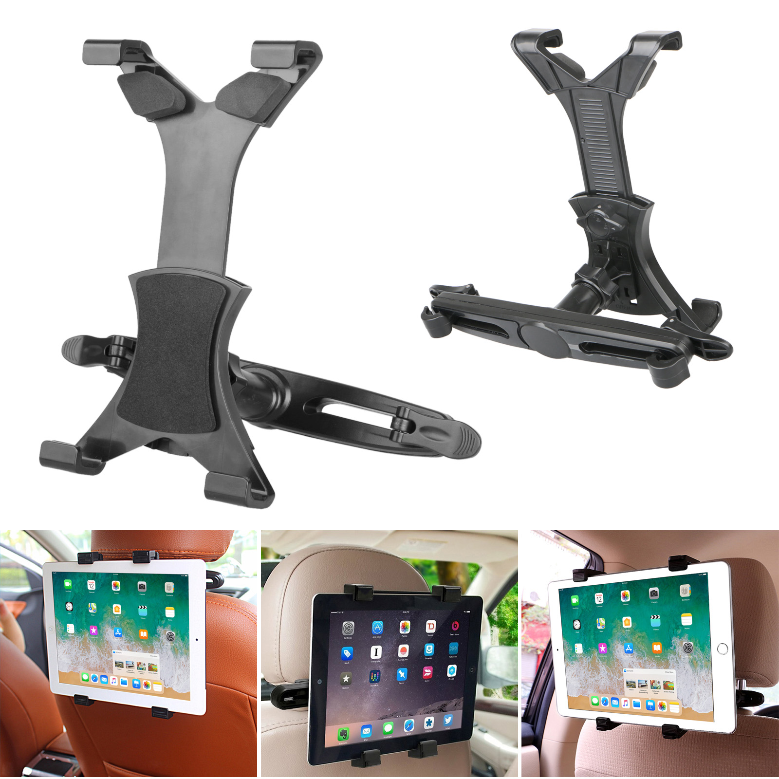 Universal Car Seat Headrest Stand Mount Holder For IPad