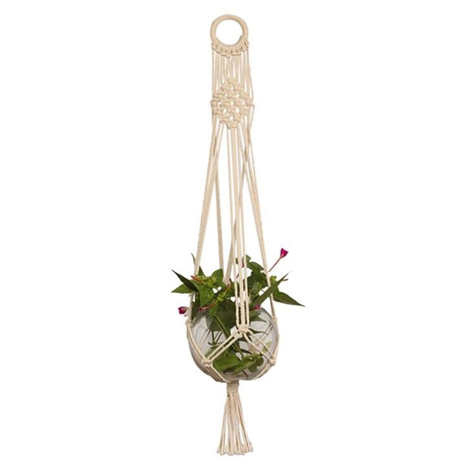 pot holder macrame plant hanger planter hanging basket. Black Bedroom Furniture Sets. Home Design Ideas
