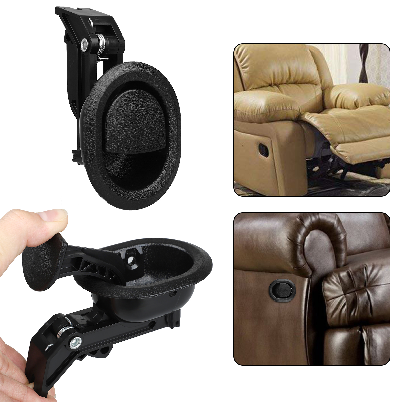 Astounding Details About Black Recliner Replacement Pull Handle Chair Sofa Couch Release Lever Universal Alphanode Cool Chair Designs And Ideas Alphanodeonline