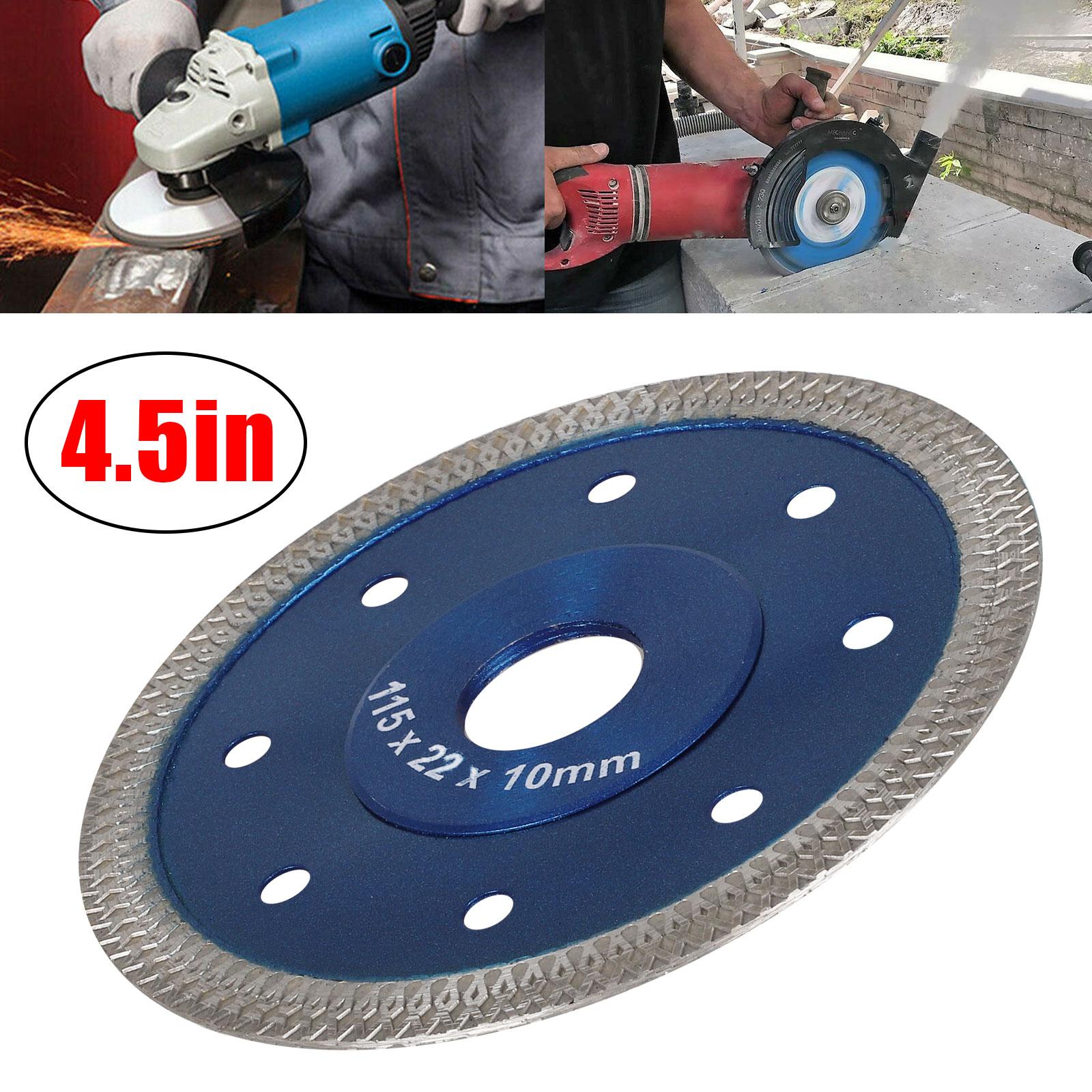 Cuts Porcelain Tile Turbo Diamond Dry Cutting Blade//Disc Grinder Wheel 4 Inch