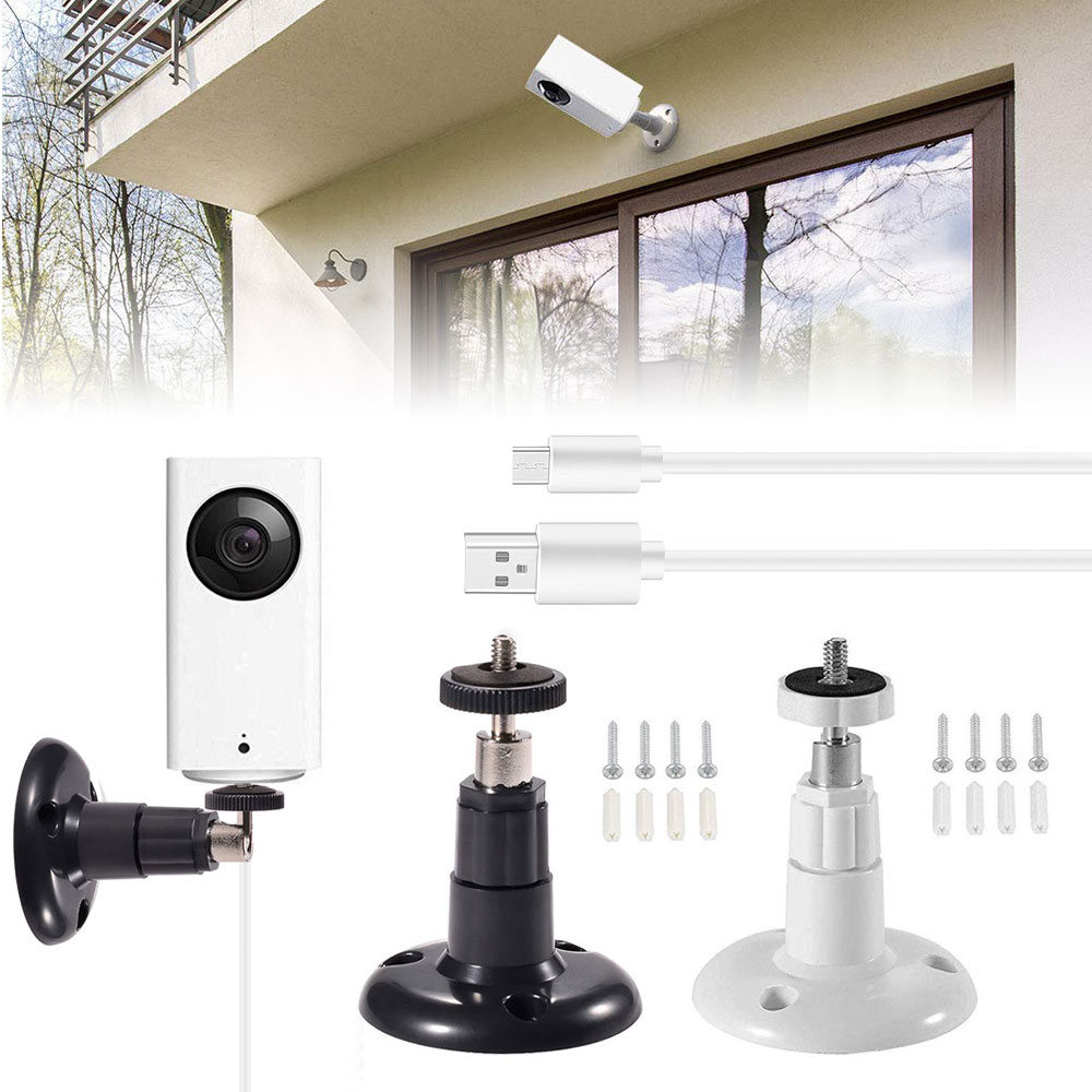 Outdoor/Indoor Wall Ceiling Mount + 23FT Charger Cable for W
