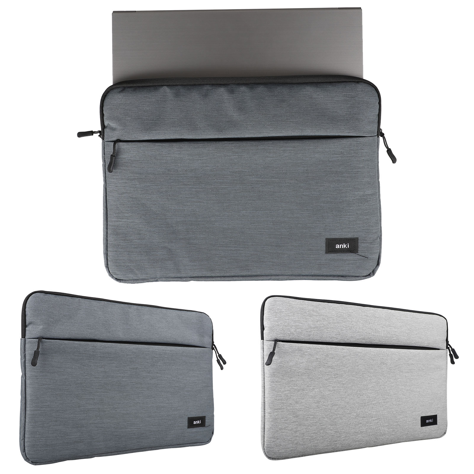 14 15.6inch Laptop Case Bag Soft Cover Sleeve Pouch for HP/D