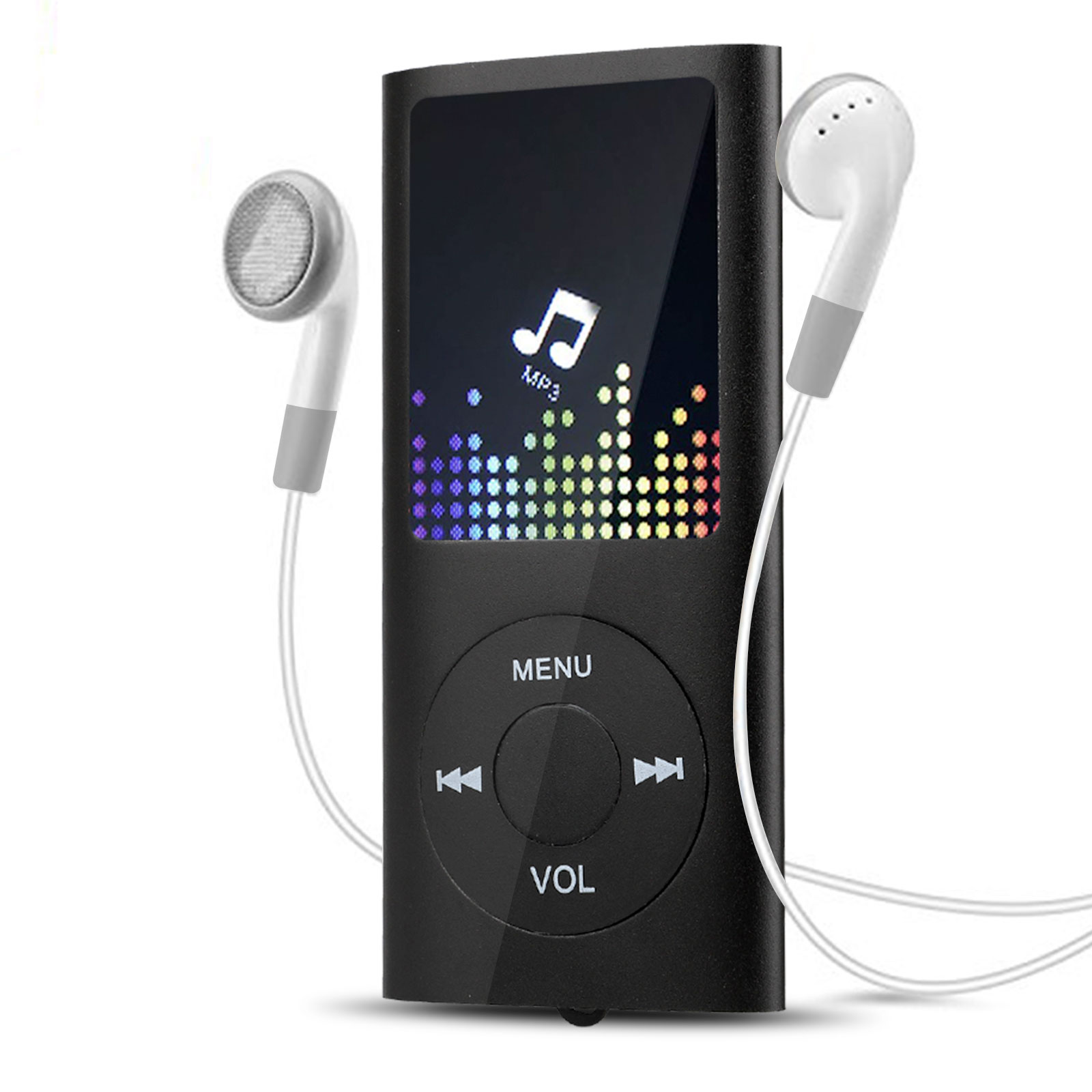 40 Hours HiFi MP3 Music Player FM Lossless Sound Recorder up