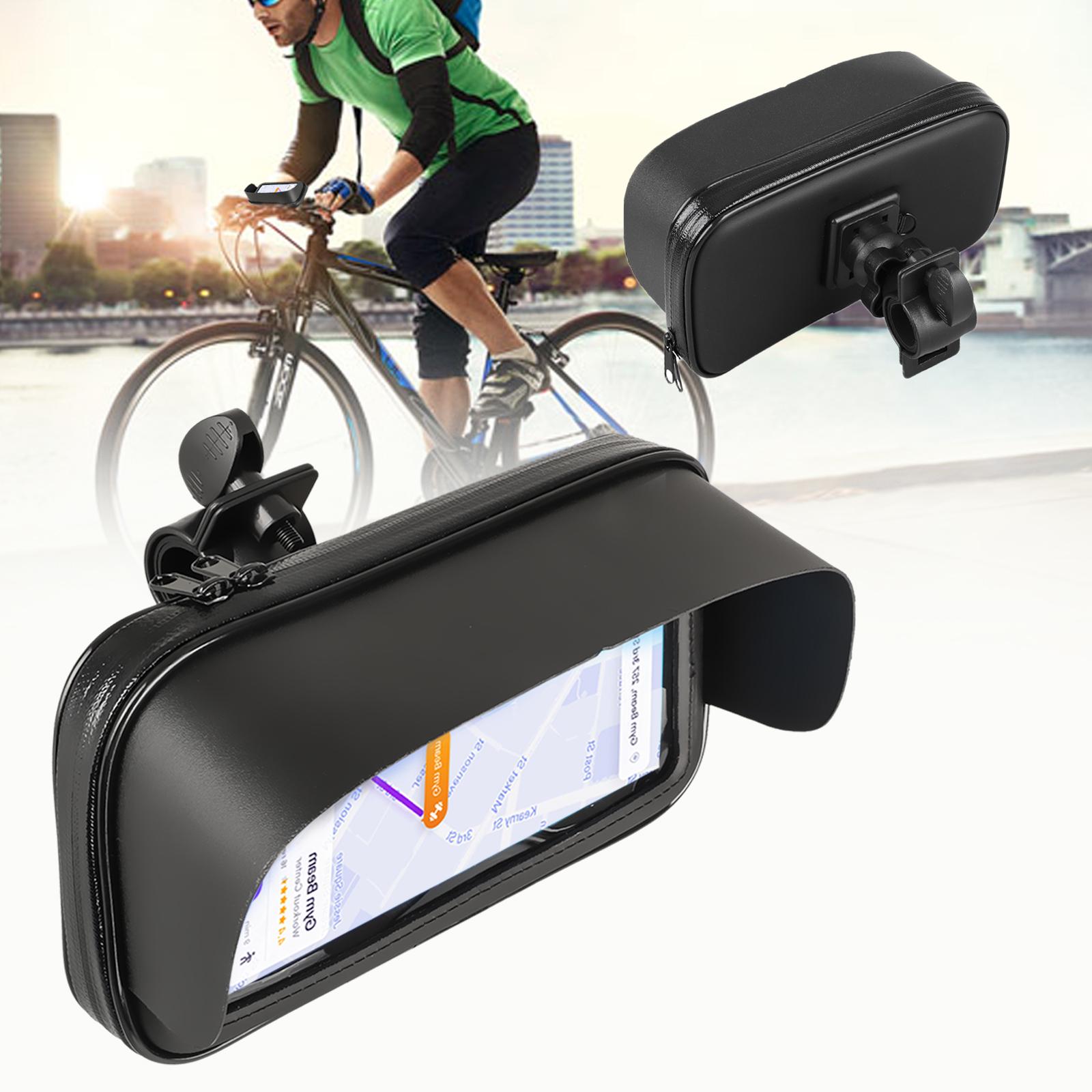 Bike Bicycle Motorcycle Waterproof Phone Case Bag Handlebar