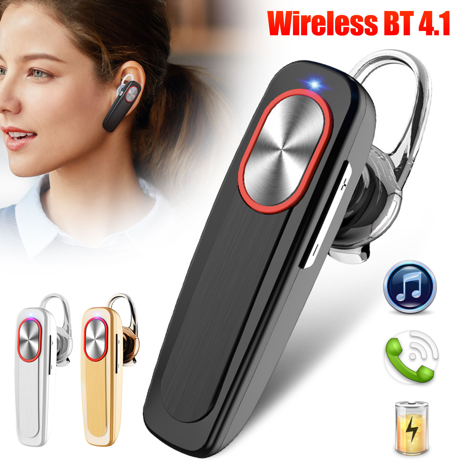Gembird Bhp 003s Bluetooth Stereo Headset Silver For Sale Online Ebay