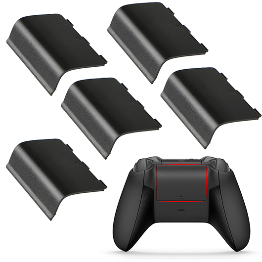 Details about 5-pack Replacement Battery Door Shell Cover for Xbox One  Wireless Controller