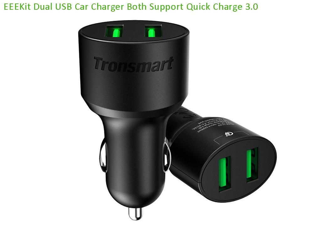 Qualcomm certified 6v 3a quick charge 3 0 tronsmart usb for Lampen 0 36w 6v