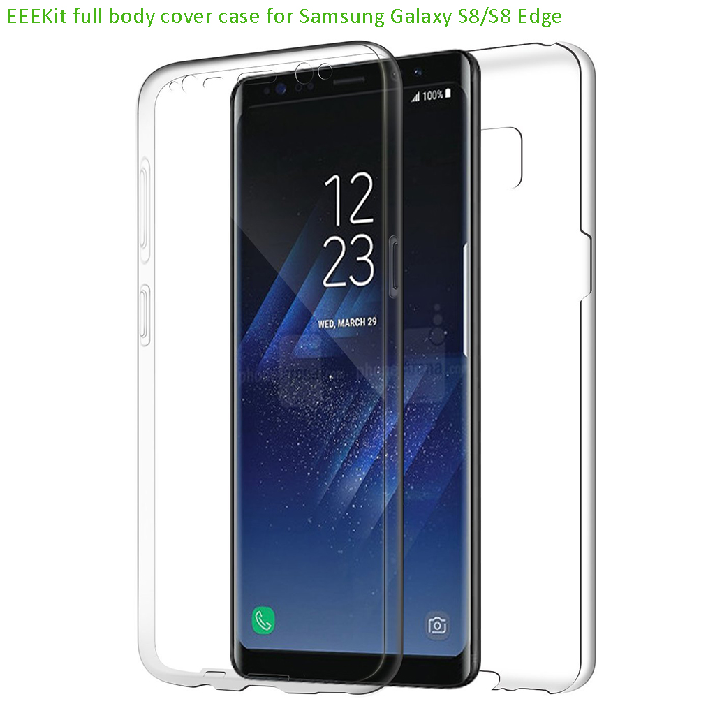 OEM for Samsung Galaxy S8 Plus S7 Edge S6 Clear TPU Full Body Cover Case Skin | eBay