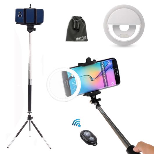 Eeekit 40 Led Selfie Fill Light Up Phone Ring Flash Selfie